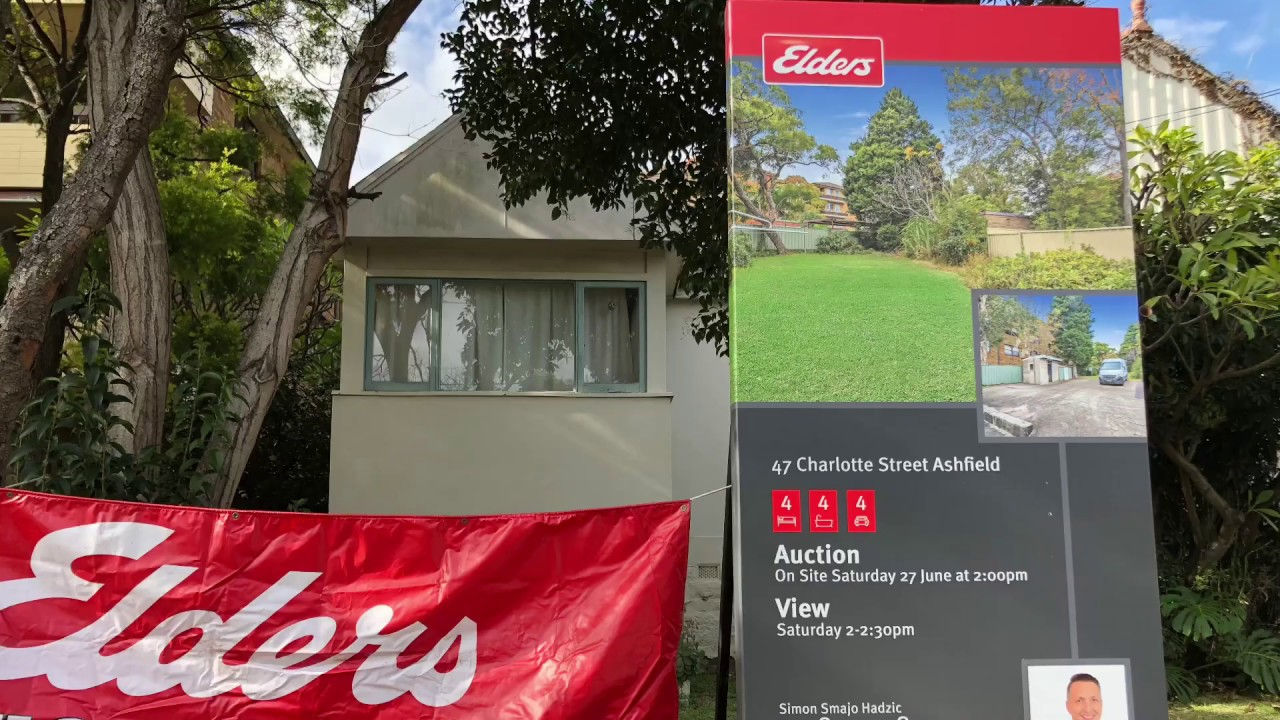 悉尼房屋拍卖实况