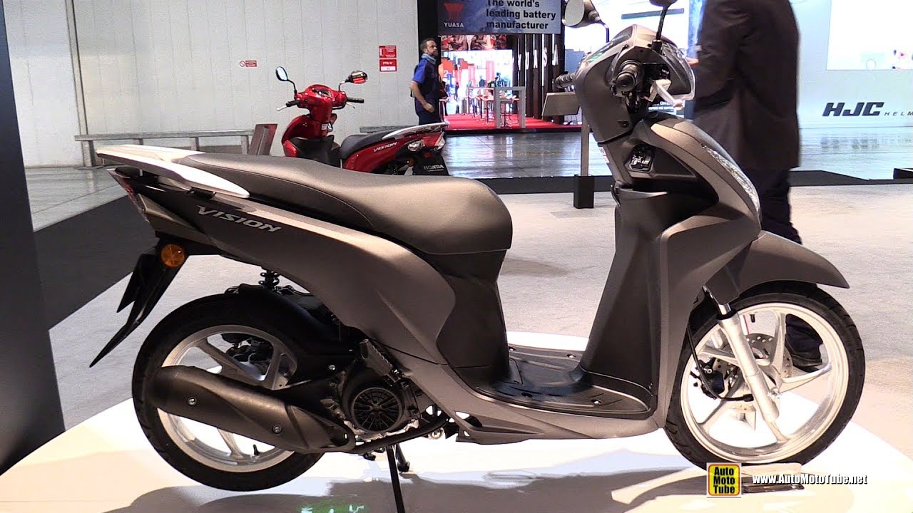 2017 honda vision 110 cbs scooter walkaround 2016 eicma milan youtube. Black Bedroom Furniture Sets. Home Design Ideas