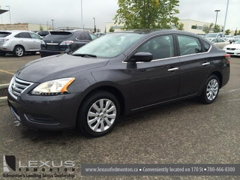Pre Owned Grey 2014 Nissan Sentra 4dr Sdn CVT S ...