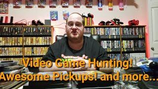 Video Game Hunting! Awesome Pickups! And more...