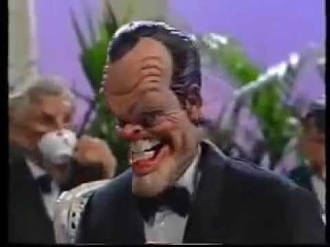 Robert de Niro and Jack Nicholson on Spitting Image  HootyHaHas Flashbacks
