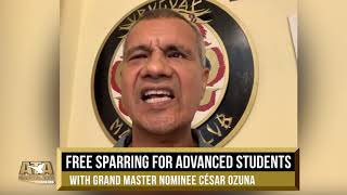 WS19 Free Sparring for Your Most Advanced Students w/ GMN Cesar Ozuna | ATA Martial Arts