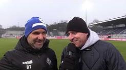 21.Spieltag: Interviews (SV Meppen - SV Waldhof)