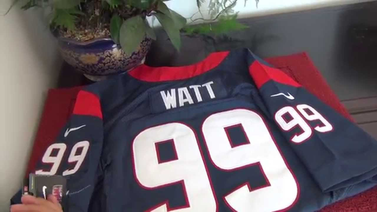 Houston Texans #99 JJ Watt jerseys YouTube  for sale