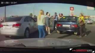 #2 Risse Automobilistiche per strada! Agosto 2014