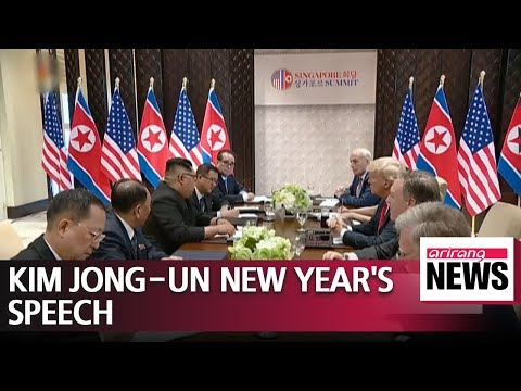 Experts don't think Kim Jong-un's New Year's speech will provide breakthrough