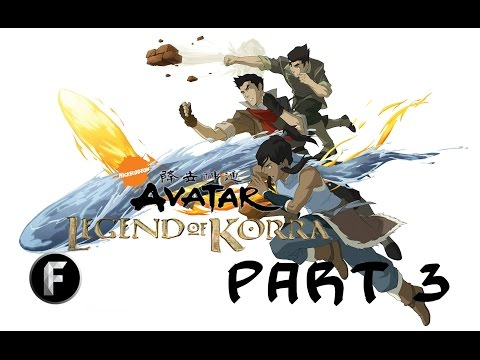 I CAN SHAKE THE WORLD WITH EARTH! [The Legend of Korra Gameplay Part 3]