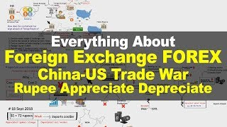 Foreign Exchange Reserve, Market, Participants | US-China Trade war | Rupee Appreciate Depreciate