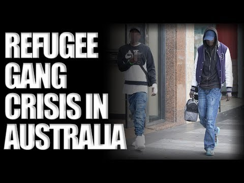 Refugee Gang Crisis in Melbourne Australia (January 2018)