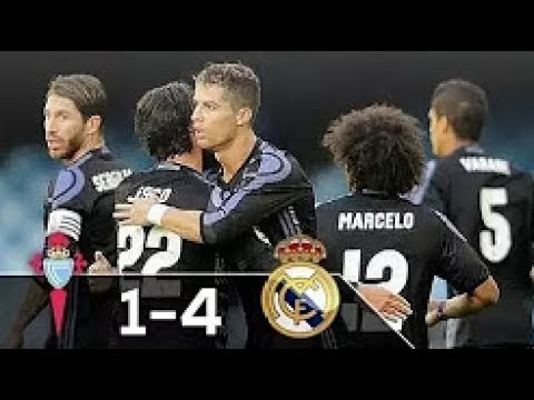 Real Madrid vs Celta Vigo 4 - 1 All Goals 17/ 5/ 2017