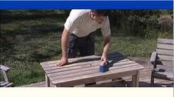 Puutarhakalusteiden kunnostus