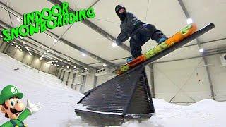 EDGY INDOOR SNOWBOARDING 2
