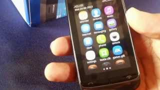 Nokia Asha 310 Unboxing and Review