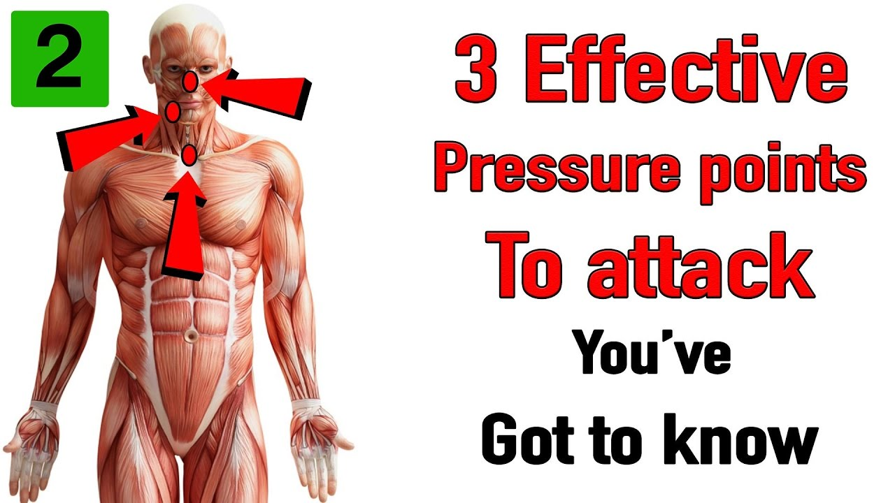 Three effective pressure points to attack youve got to know youtube three effective pressure points to attack youve got to know ccuart Images