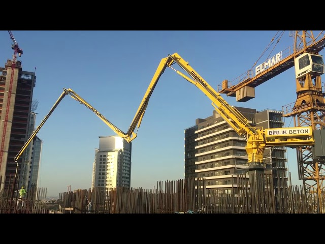 PB32 Concrete Placing System With Climbing Mast - monoser® Concrete Placing Systems