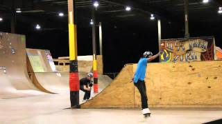 Matt Lyon, Kyle Wood, The Flow Skatepark