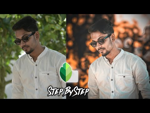 Snapseed New CB Photo Editing Tutorial In Bangla-Smart Tech Point