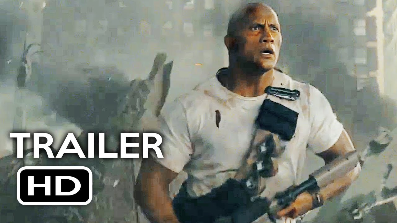 Rampage Official Trailer 2 2018 Dwayne Johnson Monster Action