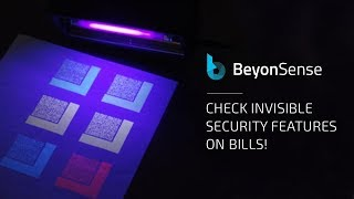 BeyonSense checks currencies security features!