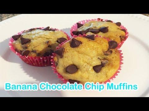 How to make: Banana Chocolate Chip Muffins