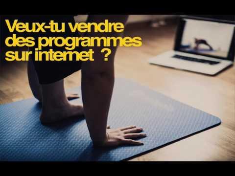 Vendre des programmes fitness sur Internet