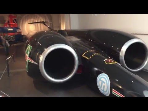 Thrust SSC   Mach 1.03 Supersonic Fast Car