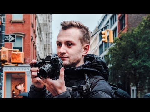 FUJIFILM STREET PHOTOGRAPHY IN THE RAIN — SOHO, New York