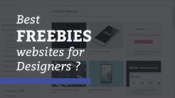 Best Freebies websites for UI & Graphic Designers