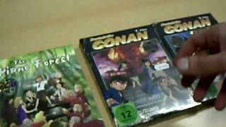 Unboxing/Unpacking - The Piano Forest & Detektiv Conan Film 3&7 in der Limited Edition (German)