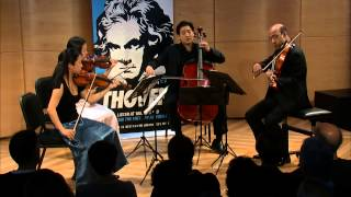 Beethoven's String Quartet No. 1 in F Major, Live in The Greene Space