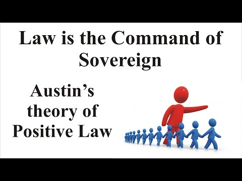 Austin's Theory of Positive Law (Law is the Command of Sovereign) | Jurisprudence | Law Guru