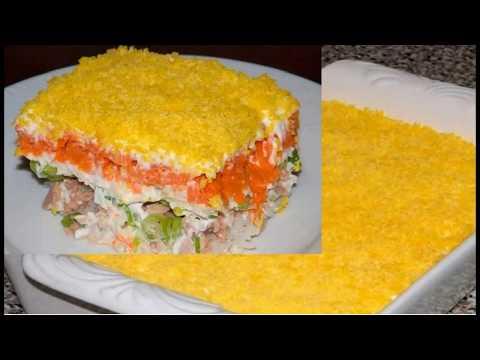 Салат мимоза [классический ] Пошаговый рецепт