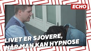 Hypnose: Lasse kan hypnotisere alt og alle
