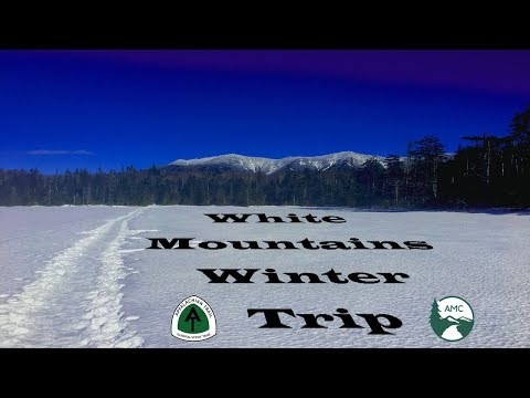 Winter Backpacking  - White Mountains - Cannon Mountain/The Kinsmans - Lonesome Lake Hut