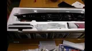 Joysway DRAGON FORCE 65 RG65 Build Part 2 - Keel, Mast, Rudder