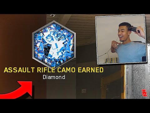 UNLOCKING THE WORLDS FIRST DIAMOND CAMO IN ONE DAY! *LIVE REACTION* - Infinite Warfare
