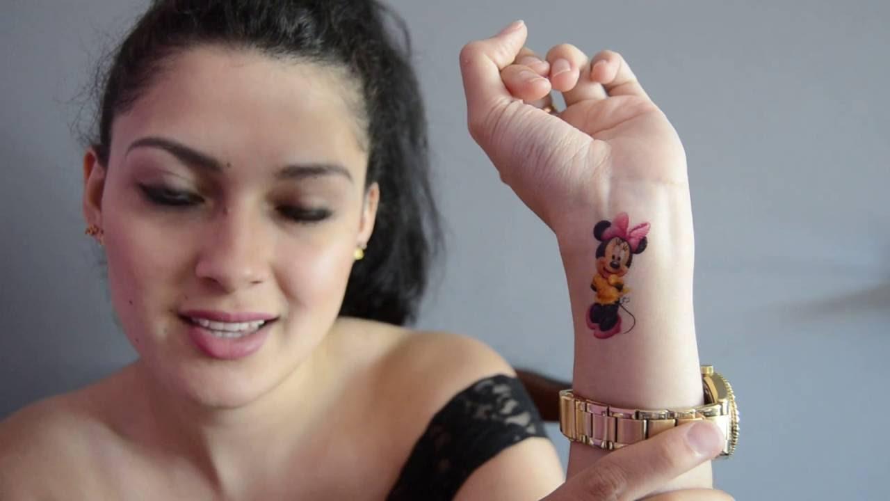 Tatuajes De Mickey Mouse Youtube