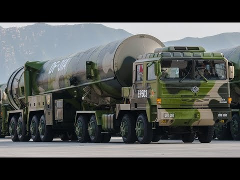 China Shows Off Modern Nuclear Weapons in HUGE Military Parade