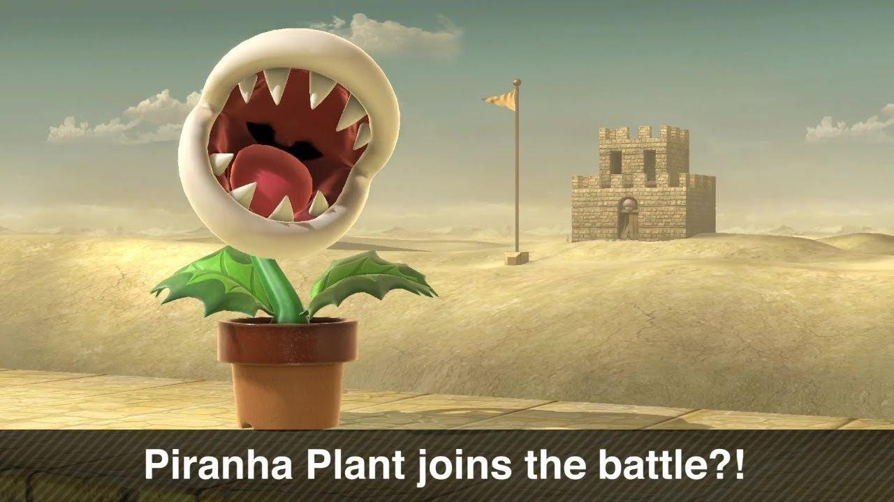 Super Smash Bros. Ultimate- #PiranhaPlant Day 1