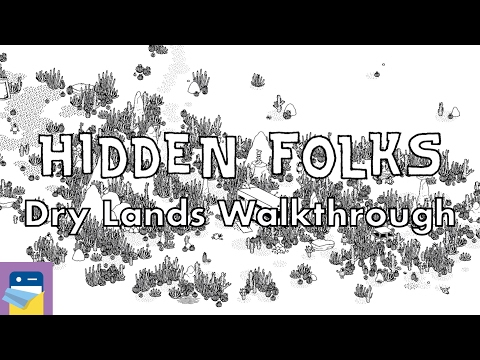 Hidden Folks: Dry Lands Walkthrough Guide & Locations