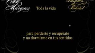 EDITH MÁRQUEZ Karaoke TODA LA VIDA