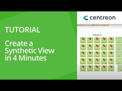 Centreon MAP - Create a synthetic view in 4 minutes
