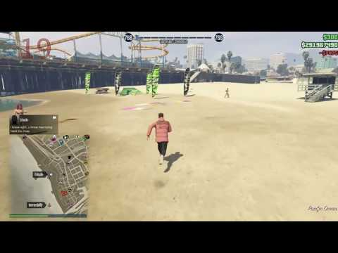 (GTA 5 Online) Jet Troll Gets RPG'd Down 19 Times! Terrordaffy July 2017 Update