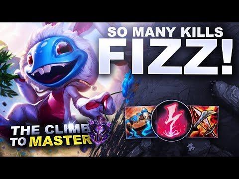 SO MANY KILLS ON FIZZ! - Climb to Master S9 | League of Legends thumbnail
