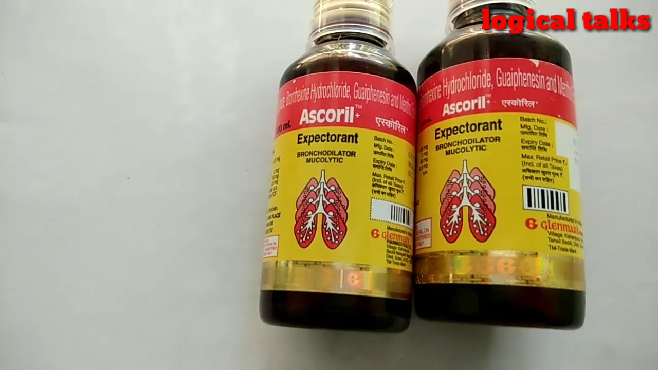 Ascoril: instructions for use, analogues and reviews of doctors 94