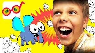 Как Сделать из МУХИ слона 🐘 Смешное Видео Для Детей PaRaTu Kids