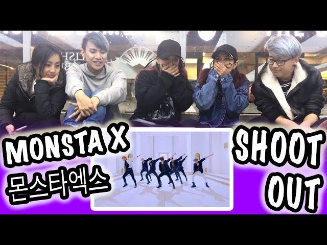 [KPOP REACTION] MONSTA X 몬스타엑스 -- SHOOT OUT
