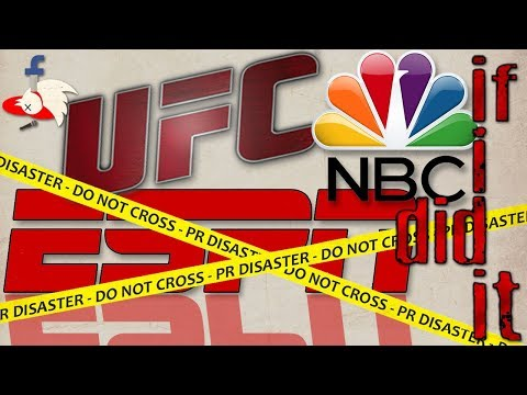 If I Did It: New TV partners for the UFC?