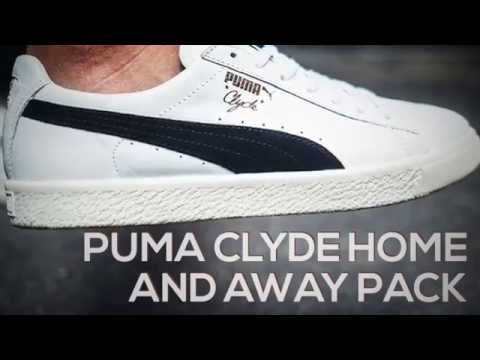 0faaa05094c PUMA CLYDE HOME AND AWAY PACK   PEACE X9