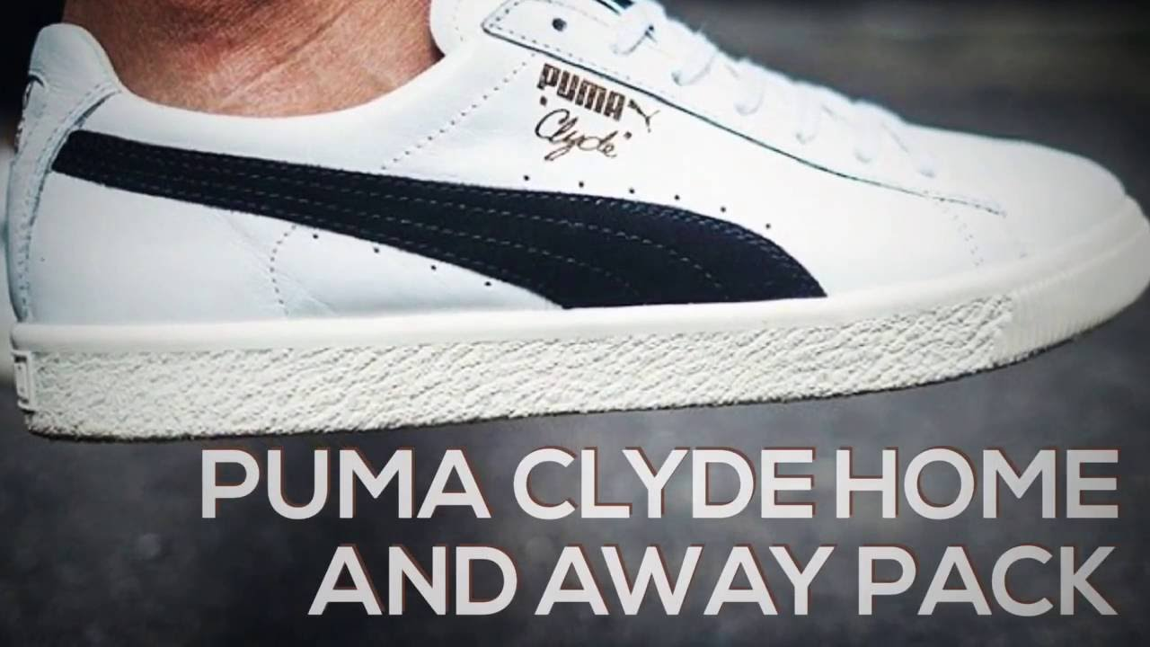 2669869ae44 PUMA CLYDE HOME AND AWAY PACK   PEACE X9 - YouTube